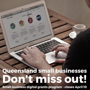 QLD Small business digital grants program