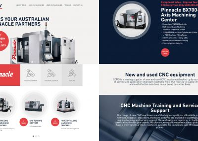 BDMS CNC Machinery Specialists – SEO Project
