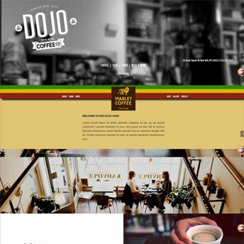 cafe divi wordpress