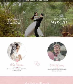 wedding divi wordpress