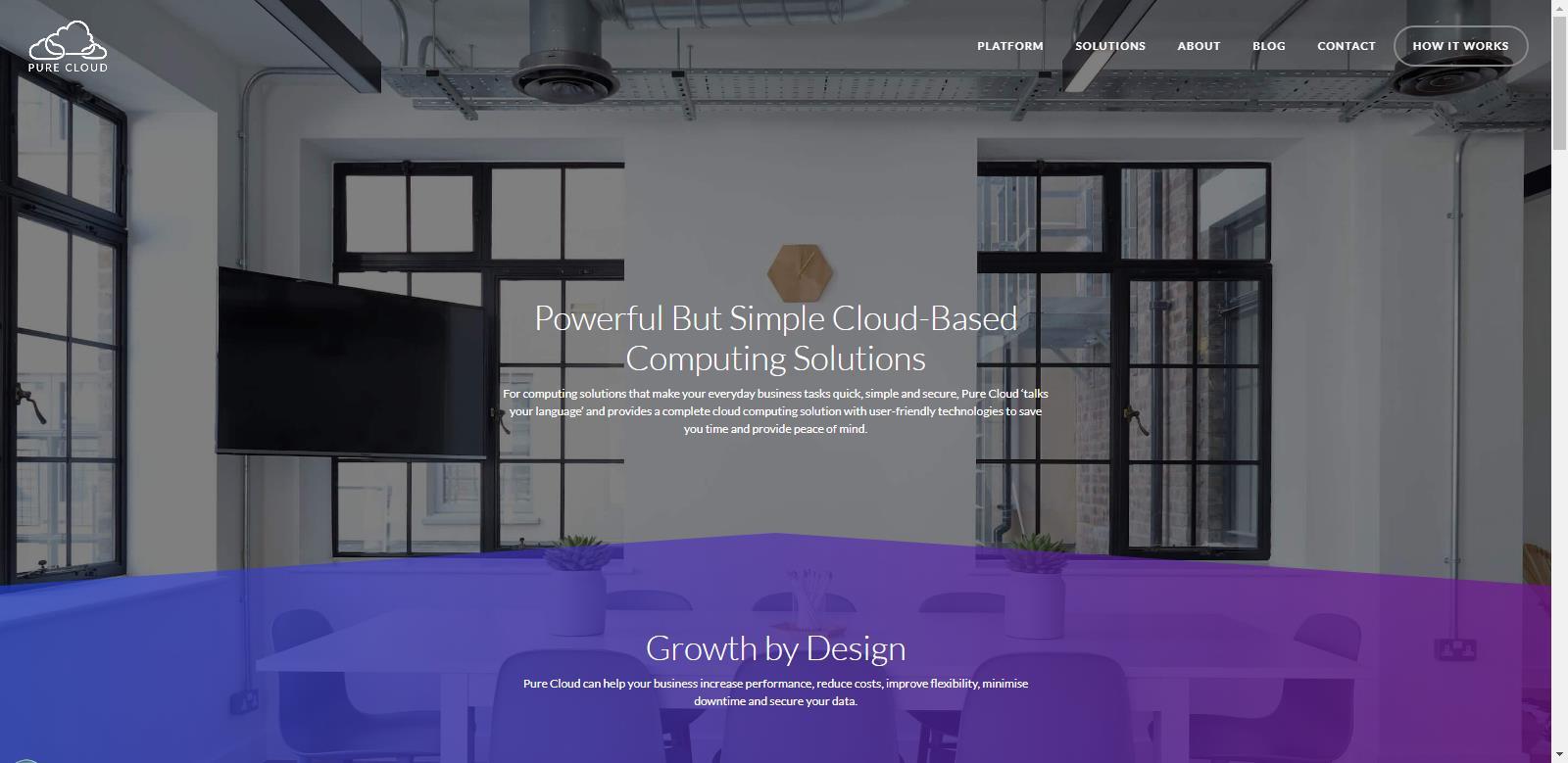Purecloud Solutions Web Project