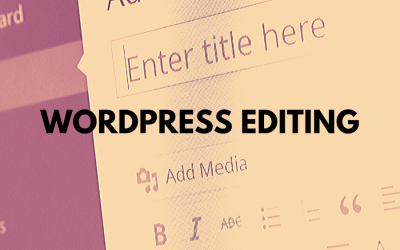 Brisbane WordPress Editing