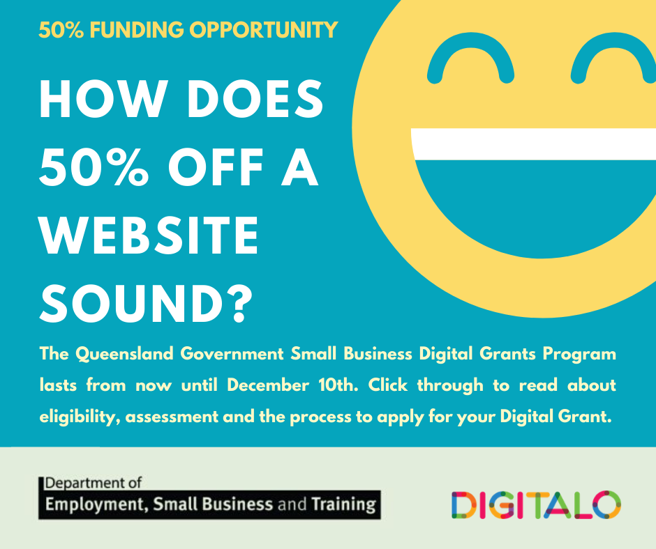 Qld Government Digital Grants: An opportunity too good to miss